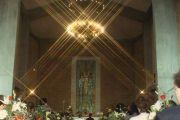 Pala d'altare inaugurata a Tor Lupara - 25 gennaio 1968