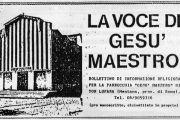 """Consacrazione del primo tempio """"Gesù Maestro"""" - 10 settembre 1967"""